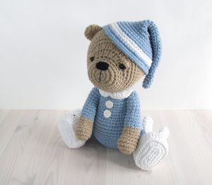 Crochet Teddy Bear Amigurumi Tutorial