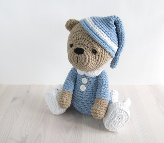Crochet Pattern Amigurumi Bear : 34 Crochet Teddy Bear Patterns Guide Patterns