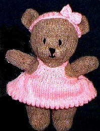 Crochet Teddy Bear Clothes Pattern Free