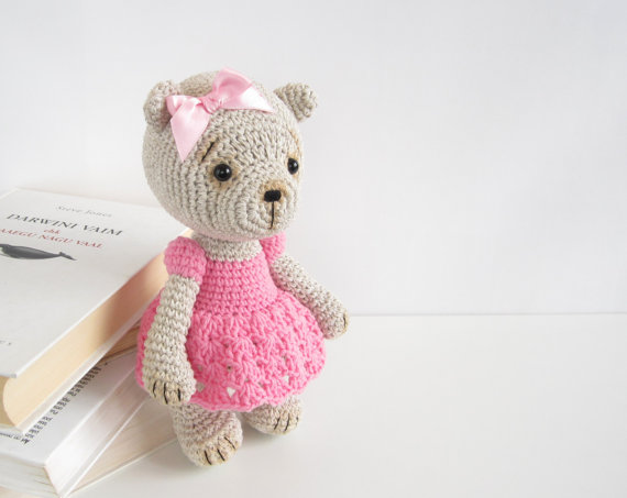 Free Crochet Patterns For Teddy Bear Sweaters : Teddy Bear Clothes To Crochet Free Crochet Pattern For ...