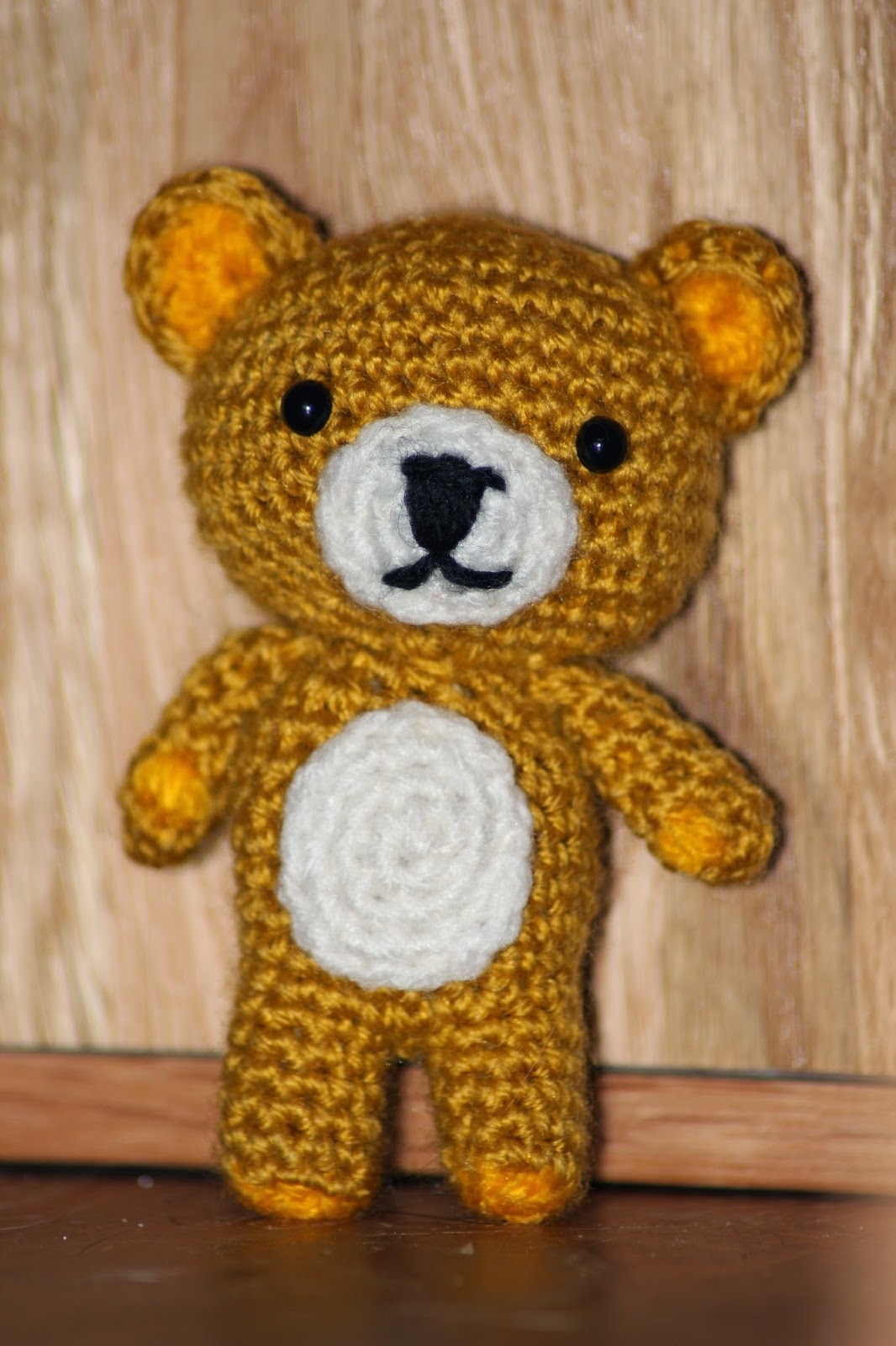 Crochet bear amigurumi | Crochet bear, Crochet bear patterns ... | 1600x1066