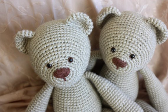 Crochet Teddy Bear : 34 Crochet Teddy Bear Patterns Guide Patterns