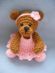 Crochet Pattern for Teddy Bear