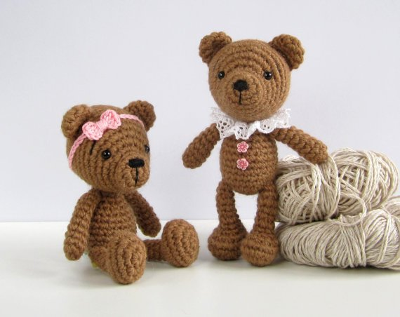 Beginner Crochet Toy Patterns : 34 Crochet Teddy Bear Patterns Guide Patterns