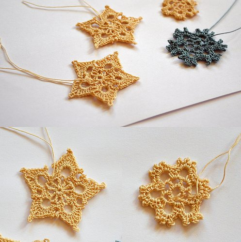 Free Crochet Pattern Snowflakes Ornament : 33 Crochet Snowflake Patterns Guide Patterns