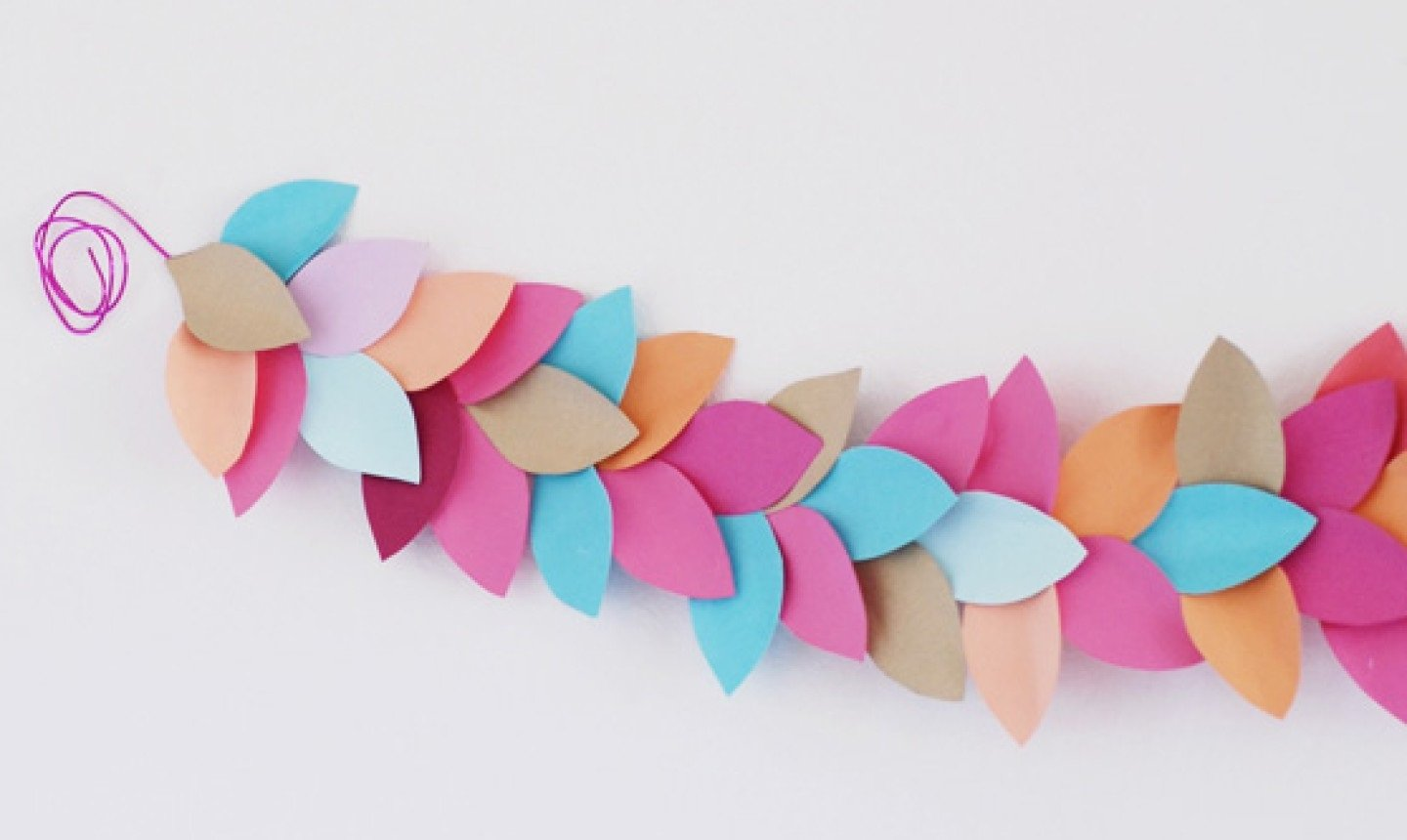 37 diy paper garland ideas guide patterns diy paper garland solutioingenieria Images