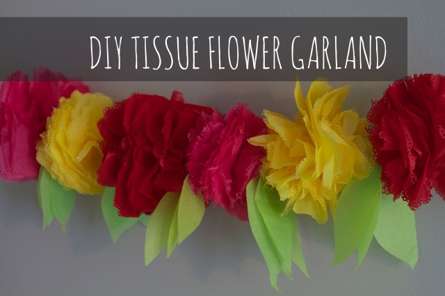Paper flower garland making acurnamedia 37 diy paper garland ideas guide patterns mightylinksfo