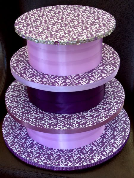 making a wedding cake stand 25 diy cupcake stands with guide patterns 17051