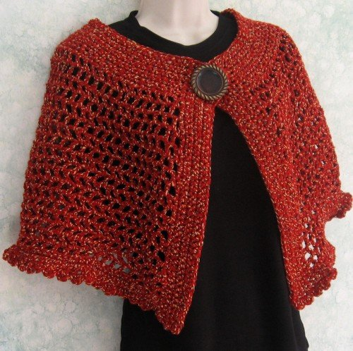 Free Crochet Pattern Simple Shrug : 38 Crochet Shrug Patterns Guide Patterns