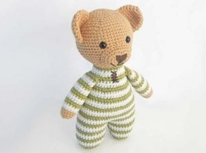 Easy Crochet Teddy Bear Doll Pattern
