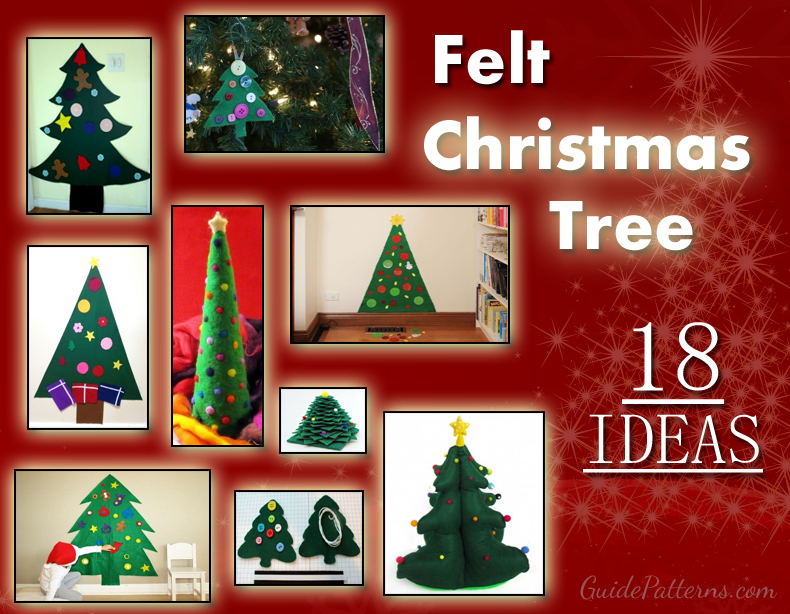 Felt Christmas Tree Ideas