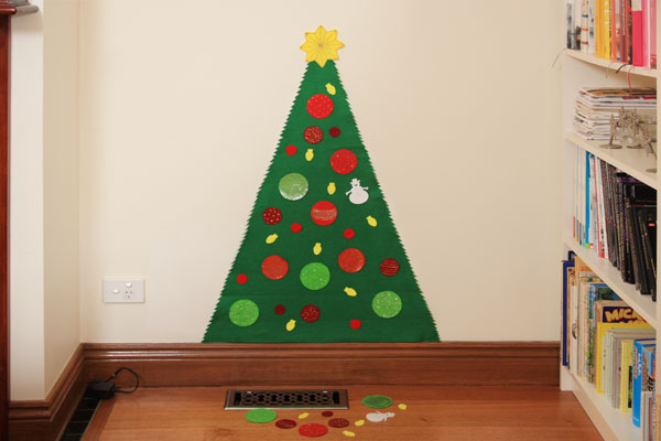18 Creative Felt Christmas Tree Ideas | Guide Patterns