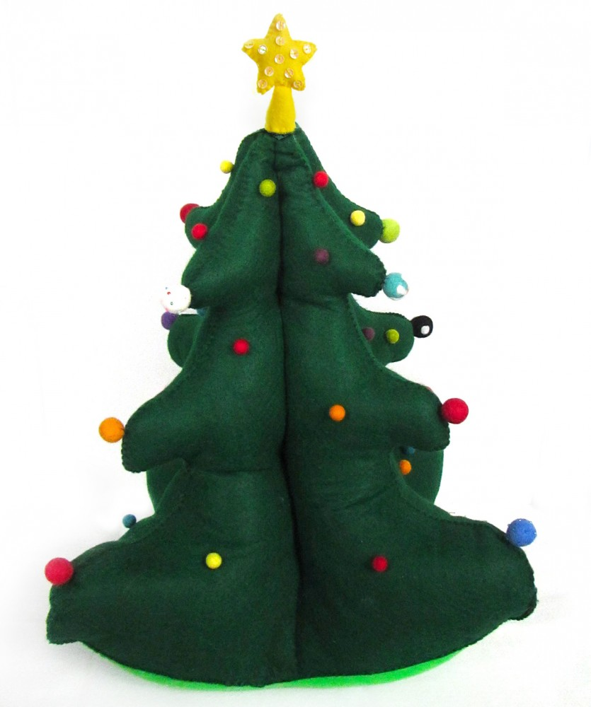18 creative felt christmas tree ideas guide patterns Creative christmas trees to make