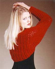 Free Crochet Pattern for Shrug