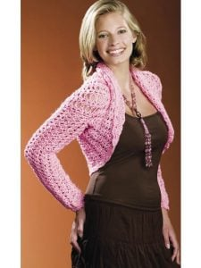 Free Crochet Shrug Pattern