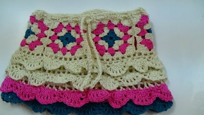 Free Crochet Patterns Baby Shower Favors : 24 Free Patterns For Crochet Skirt Guide Patterns