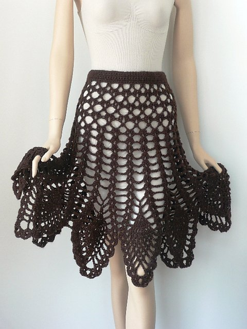 Crochet Skirt Pattern : Free Crochet Skirt Pattern