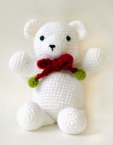 Free Crochet Teddy Bear Baby Toy
