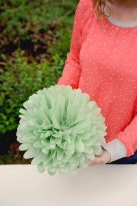 Giant Tissue Paper Flowers Instructions