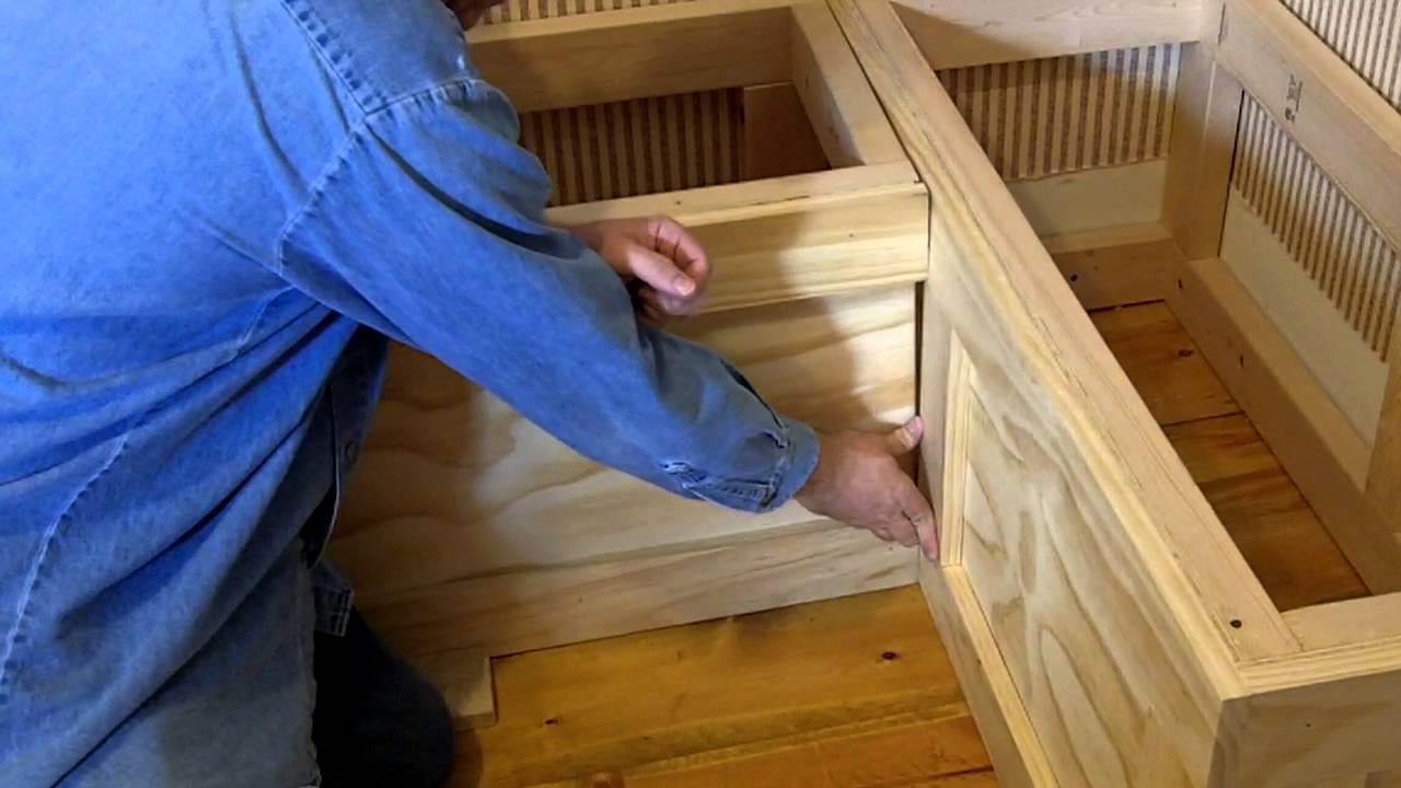Storage Bench Ideas Part - 48: How To Build A Breakfast Nook Bench With Storage