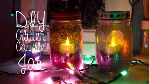 Mason Jar Candles DIY