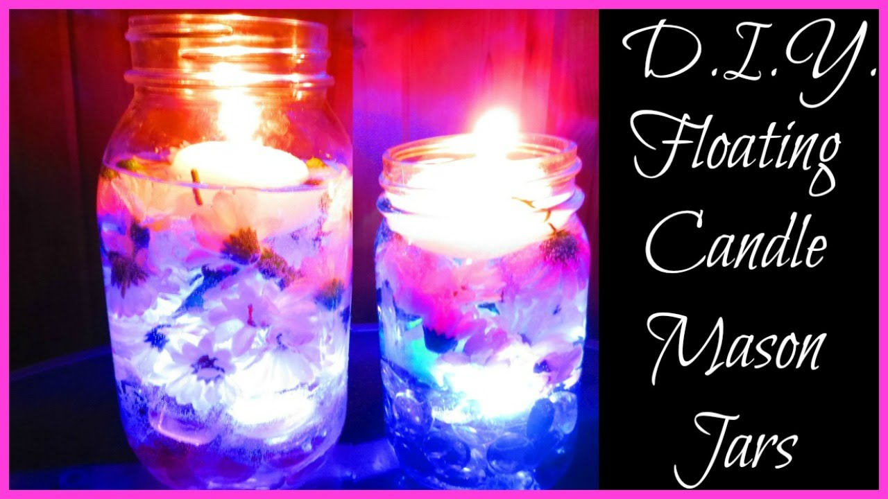 29 diy mason jar candles and holders guide patterns  table centerpiece ideas with candles