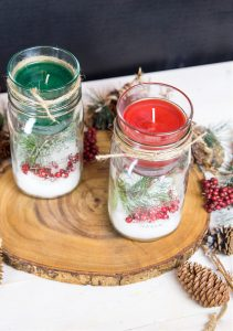Mason Jar Holders Christmas