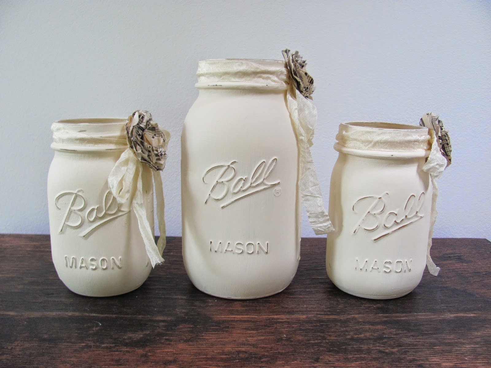mason jars painted - photo #2