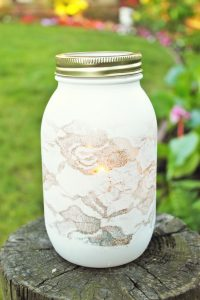 Painted Mason Jar Design