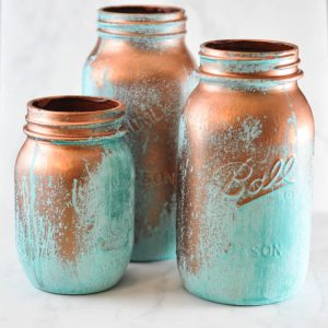 Painted Mason Jar Idea