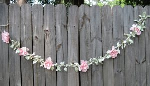 Paper Flower Garland DIY