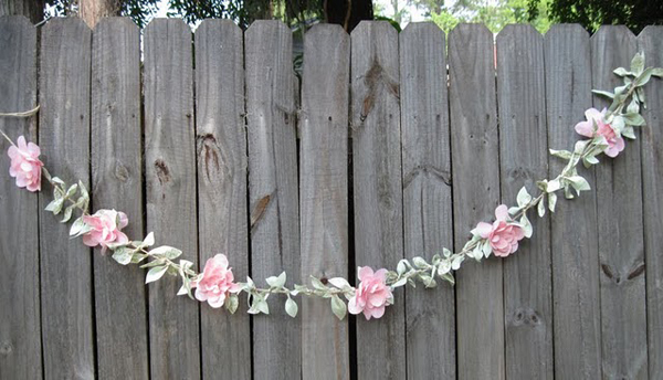 37 diy paper garland ideas guide patterns paper flower garland diy mightylinksfo Choice Image