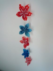 Paper Flower Garland Tutorial