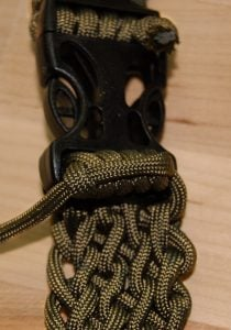 Paracord Belt Pattern
