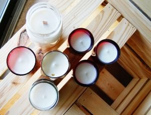 Small Mason Jar Candles