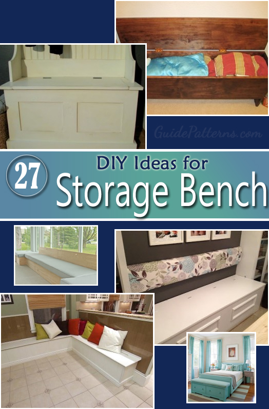 Storage Bench Ideas