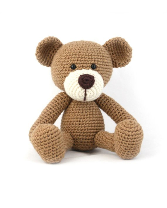 15 Crochet Teddy Bear Patterns | 712x570