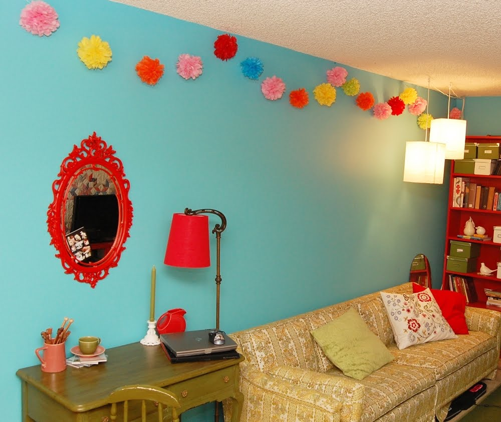 How To Make Paper Flower Garland Decorations