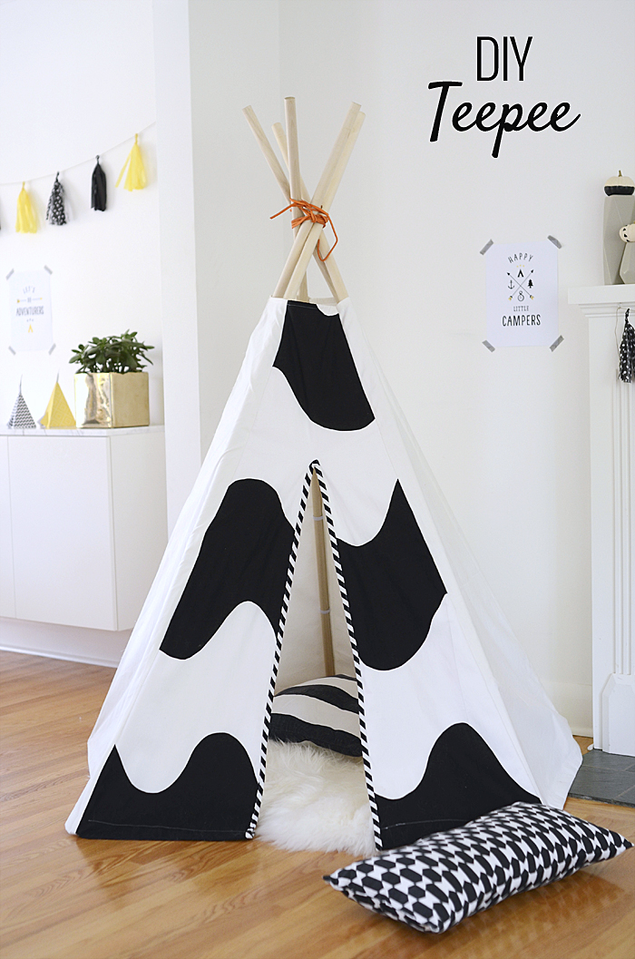 24 Easy DIY Teepee Plans | Guide Patterns