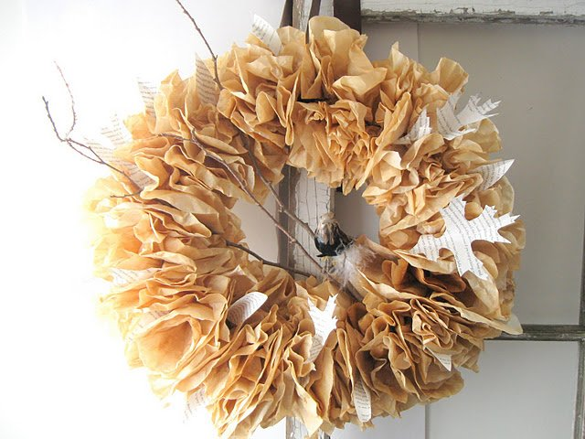 Brown Coffee Filter Crafts
