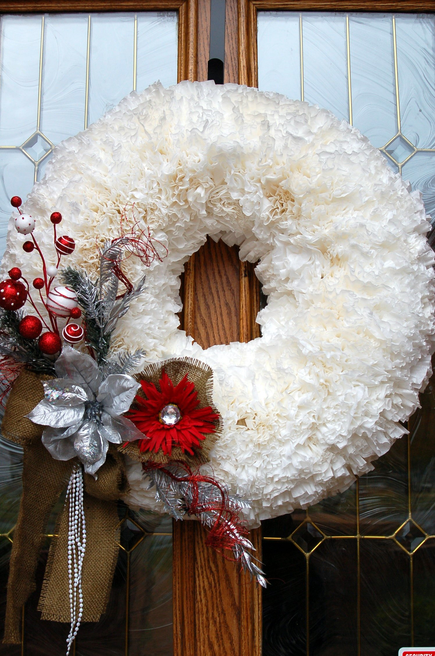 15 Diy Coffee Filter Wreath Tutorials Guide Patterns