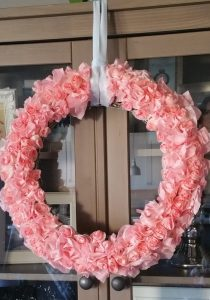 Creative Coffee Filter Wreath