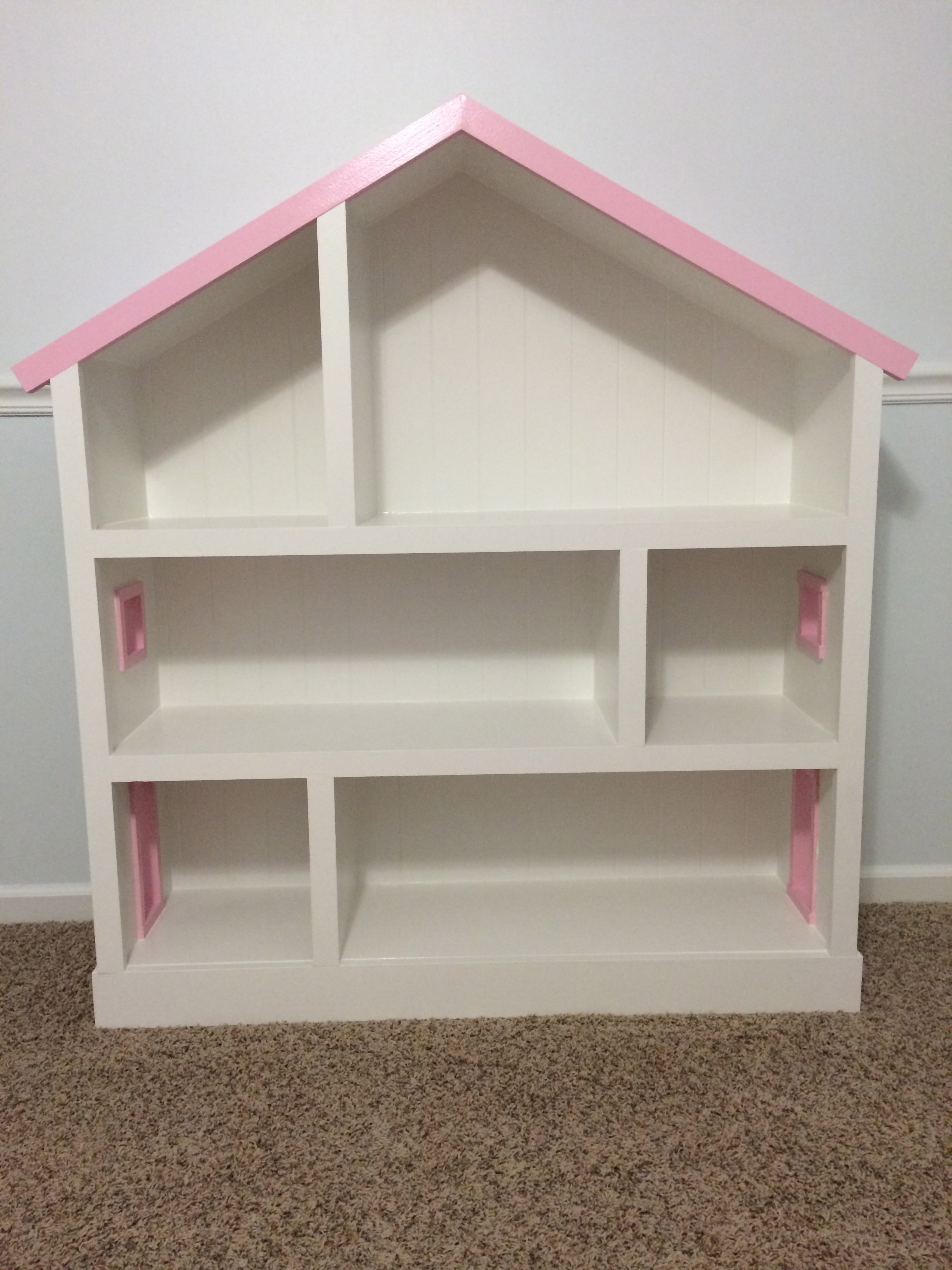 pin case bookcase from book home it white yourself do doll projects girls ana house diy