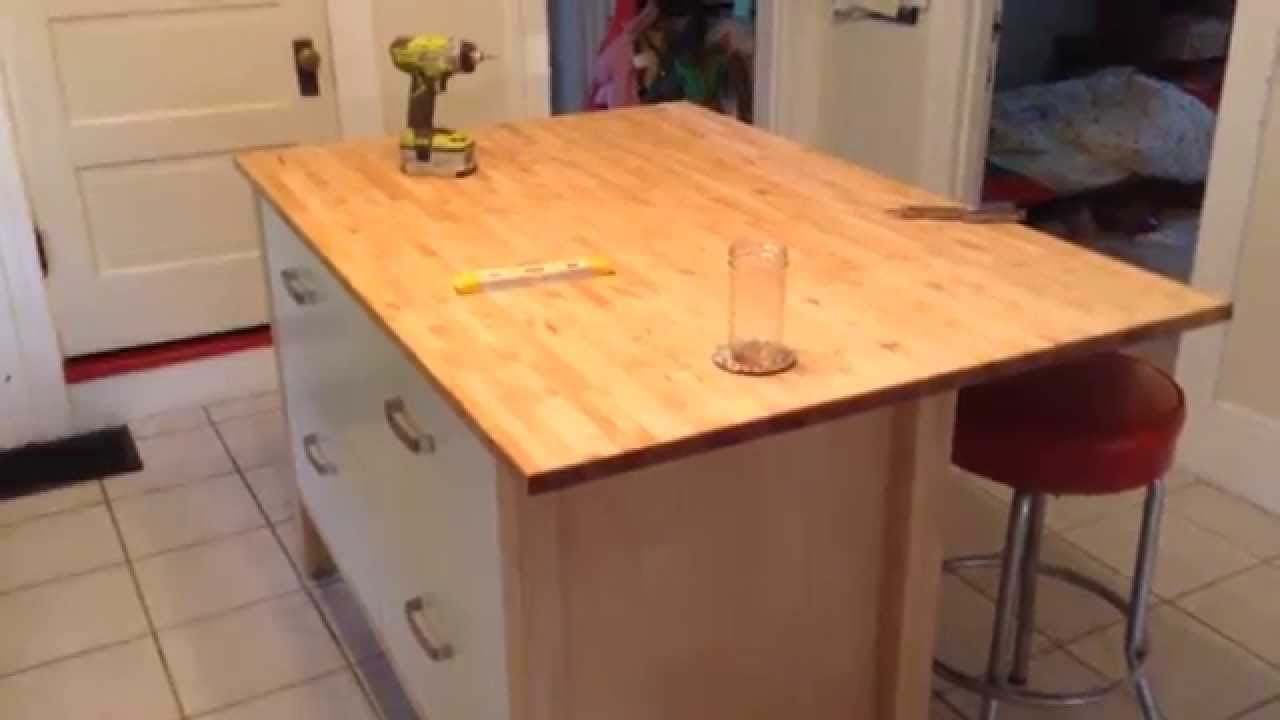 22 unique diy kitchen island ideas guide patterns for Diy cooking