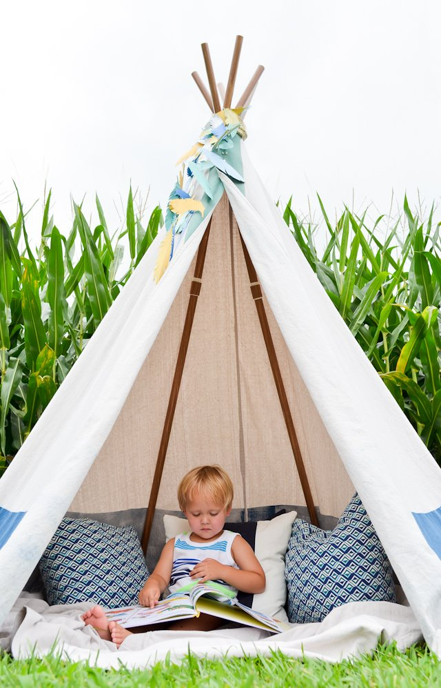 DIY Play Teepee & 24 Easy DIY Teepee Plans | Guide Patterns