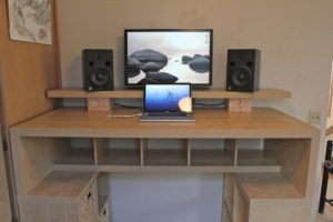 DIY Standing Up Desk Converter