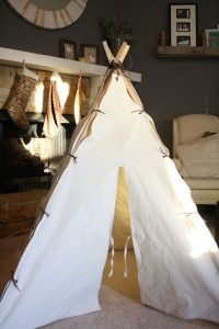 DIY Teepee Kids