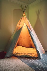 DIY Teepee Tutorial