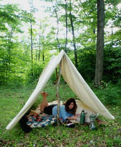 DIY Teepee for Adults