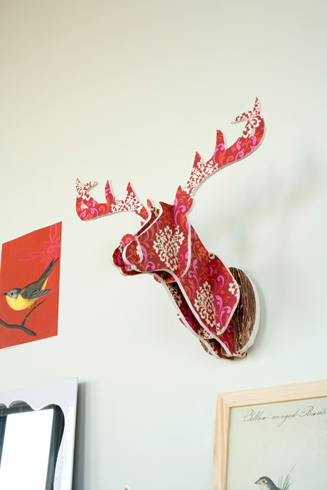 16 Cardboard Deer Head Ideas Guide Patterns
